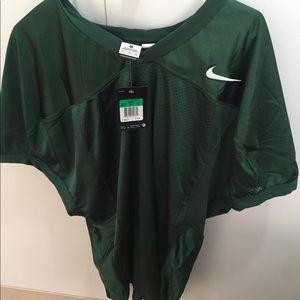 Nike Shirts - Men's nike green football shirt size XL